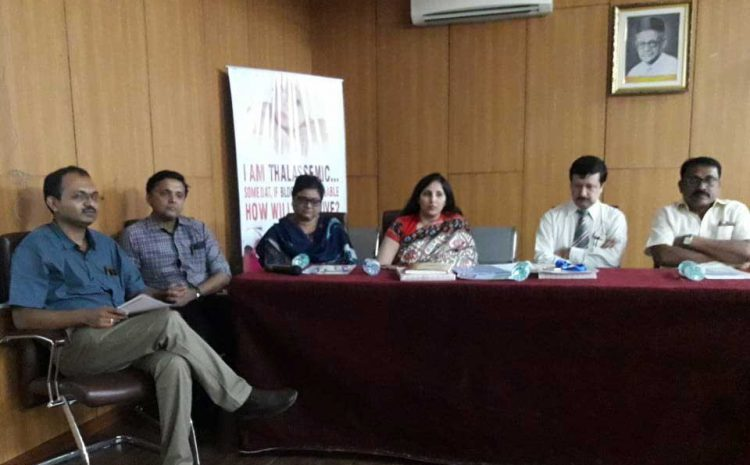 World Thalassemia Day and Thalassemia awareness week, a symposium was organized by Indian Medical Association.