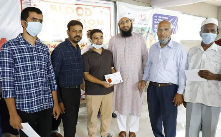 Thanks to all supporters who donated blood to Thalassemia patients on 18 Sept 2020