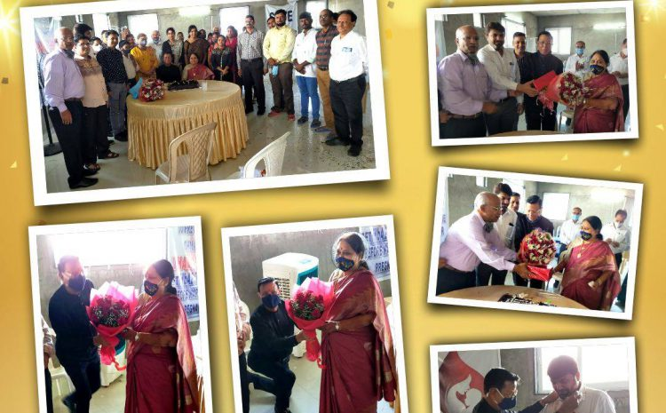 On occasion of our President Mr. Chandrakant Agarwal's Golden Jubilee Wedding Anniversary celebrations at TSCS along with Board Members and Staff