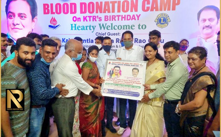 TSCS thanks for successful Mega Blood Donation Camp for Thalassemia and Sickle Cell Anemia patients