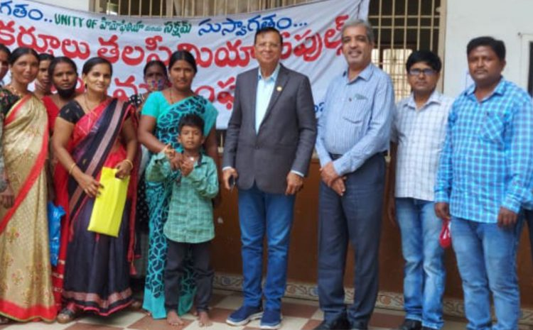 Awareness campaign was launched in continuation of previous visits, in Kurnool by Thalassemia & Sickle Cell Society, Hyderabad,